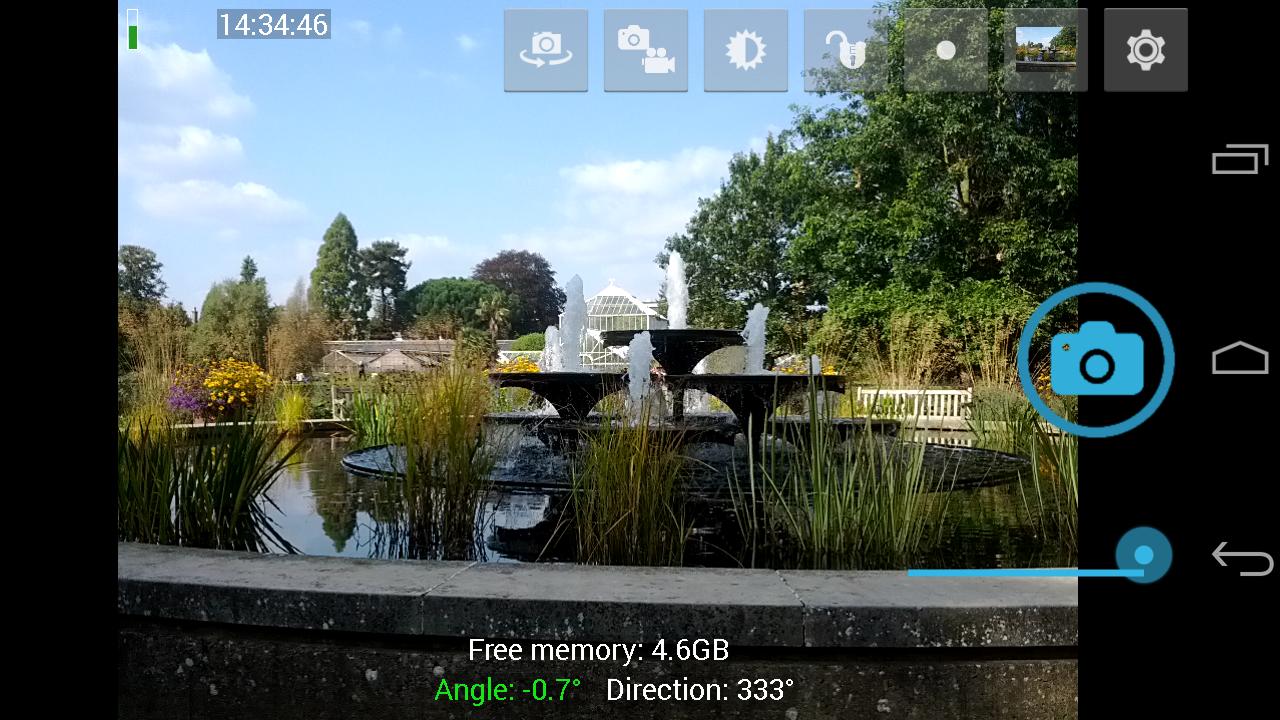 poner cámara frontal a un celular android